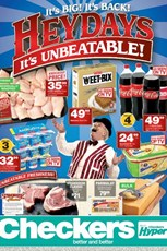 Find Specials || Gauteng, Limpopo, North West, Mpumalanga Checkers Heydays Deals