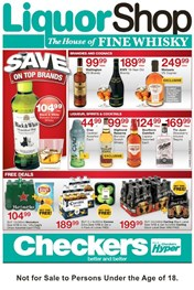 Gauteng Checkers Liquor Specials