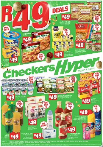 Latest deals at checkers hyper