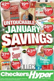 Western Cape Checkers Hyper Deals 05 Jan 2017 22 Jan 2017 Find Specials