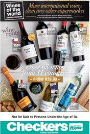 Western Cape Wine Selection Promotion