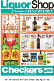 Western Cape Checkers LiquorShop Deals