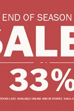Find Specials || Due South end of season sale