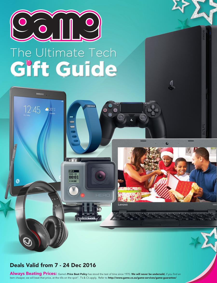 Game Tech Gift Guide 07 Dec 2016