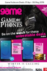 Find Specials || Game Vodacom Deals April