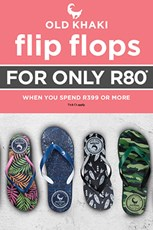 Find Specials || Cape Union Mart Flip Flop Specials