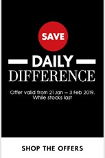 Find Specials || Woolworths Daily Difference Sale
