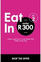 Find Specials || Woolworths Eat in for 2
