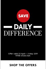 Woolworths Daily Deals