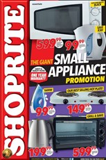 Find Specials || Gauteng, Limpopo, North West, Mpumalanga Small Appliances Shoprite Deals