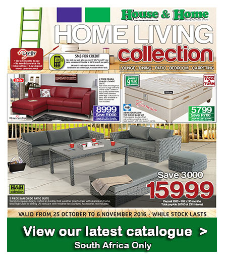 House And Home Fine Living Specials 25 Oct 2016 06 Nov 2016 Find Specials