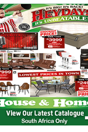 Find Specials || Houe and Home Heyday Deals