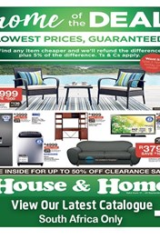 House and Home Weekly Specials