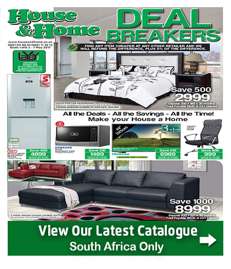 House And Home Specials Catalogue 03 May 2017 07 May 2017 Find Specials