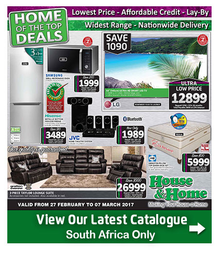 House And Home Specials Catalogue 27 Feb 2017 07 Mar 2017 Find Specials