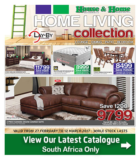House And Home Living Catalogue 08 Mar 2017 12 Mar 2017 Find Specials