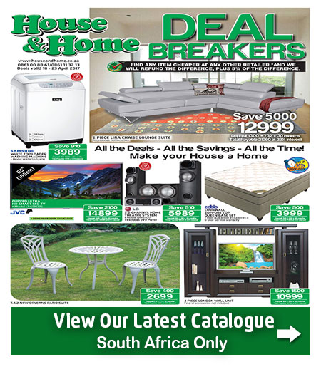 House And Home Specials Catalogue 18 Apr 2017 23 Apr 2017 Find Specials