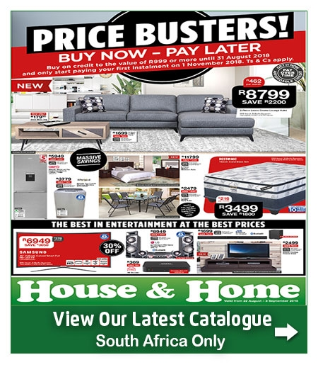 house and home specials catalogue 22 aug 2018 03 sep 2018 find specials. Black Bedroom Furniture Sets. Home Design Ideas