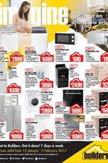Find Specials || Builders Warehouse appliance specials
