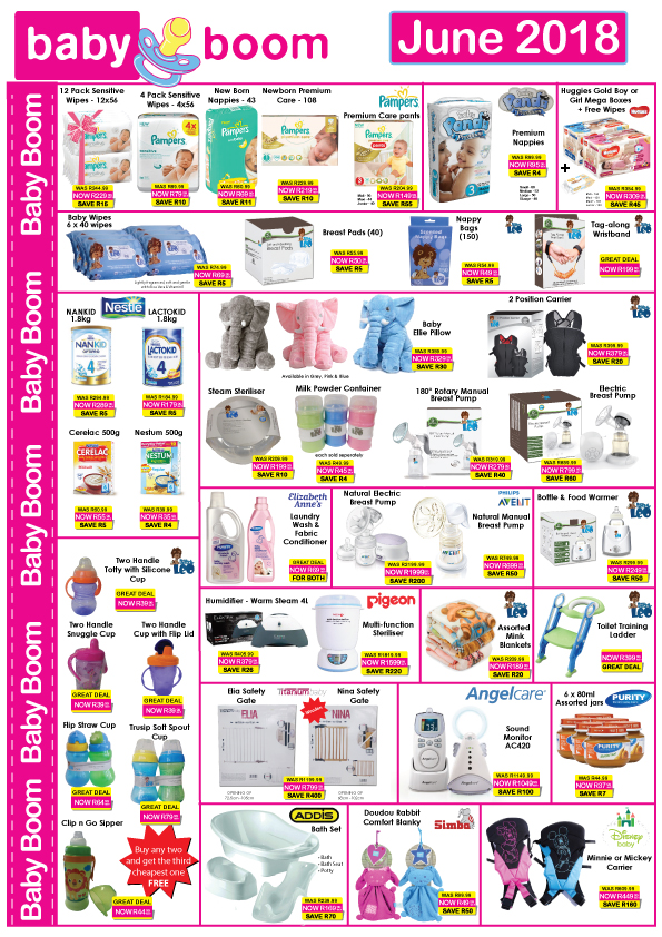Black Friday Car Deals >> Baby Boom June Specials 01 Jun 2018 - 30 Jun 2018 | Specials Catalogues May 2020