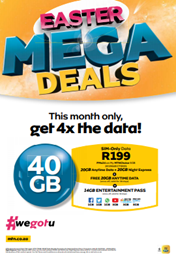MTN April & Easter Deals