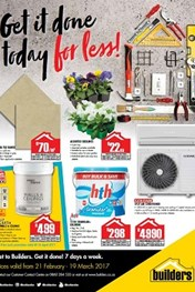 Builders Warehouse Specials Catalogue