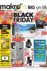 Find Specials || Makro Black Friday Deals Catalogue