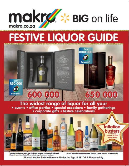 Makro Specials Catalogue 22 Oct 2017 31 Dec 2017 Find