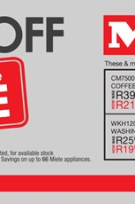 Find Specials || Hirsch's 25% off Miele Products
