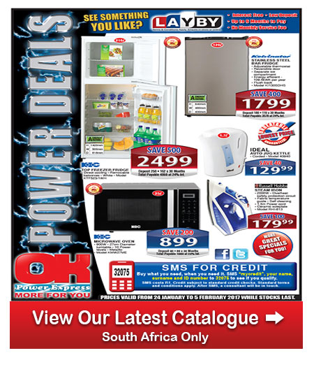 Ok furniture power specials 24 jan 2017 06 feb 2017 find specials Home furniture catalogue south africa