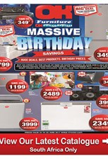 Find Specials || OK Furniture Birthday Sale