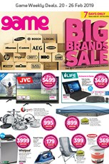Find Specials || Game Big Brands Sale