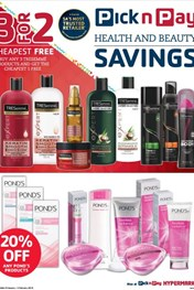 Find Specials || Pick n Pay Health and Beauty Savings