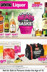 Find Specials || Game Liquor Specials