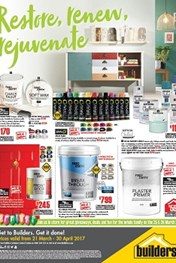 Builders Warehouse Catalogue Specials