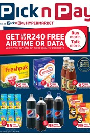 Find Specials || Pick n Pay Airtime Combo Deals