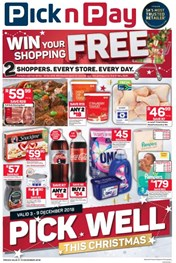 Find Specials || Eastern Cape Pick n Pay Pick Well Christmas Specials