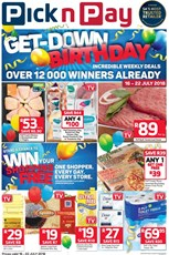 Find Specials || Eastern Cape Pick n Pay Birthday Specials