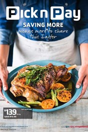Pick n Pay Saving More Sharing More Easter Leaflet