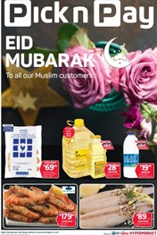 Find Specials || Eastern Cape Pick n Pay Eid Mubarak Promotion