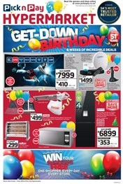 Find Specials || Pick n Pay Hypermarket Birthday Deals
