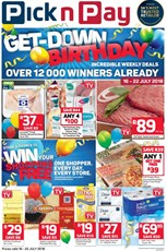 Find Specials || Inland Pick n Pay Birthday Specials