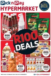Find Specials || Eastern Cape Pick n Pay Hypermarket R100 Deals