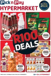 Find Specials || Western Cape Pick n Pay Hypermarket R100 Deals