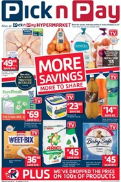 Western Cape Pick n Pay More Savings Deals