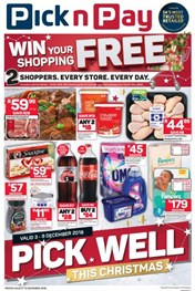 Find Specials || Western Cape Pick n Pay Pick Well Christmas Specials