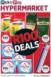 Western  Cape Pick n Pay Hypermarket R100 Deals
