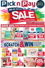 Find Specials || Western Cape Pick n Pay Specials