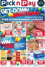 Find Specials || Western Cape Pick n Pay Birthday Deals