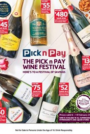Find Specials || Pick n Pay Wine Festival Promotion